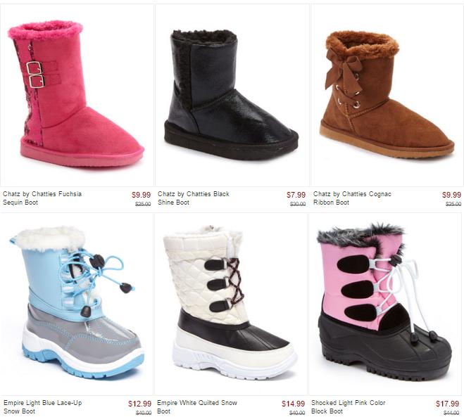 zulily kids boots