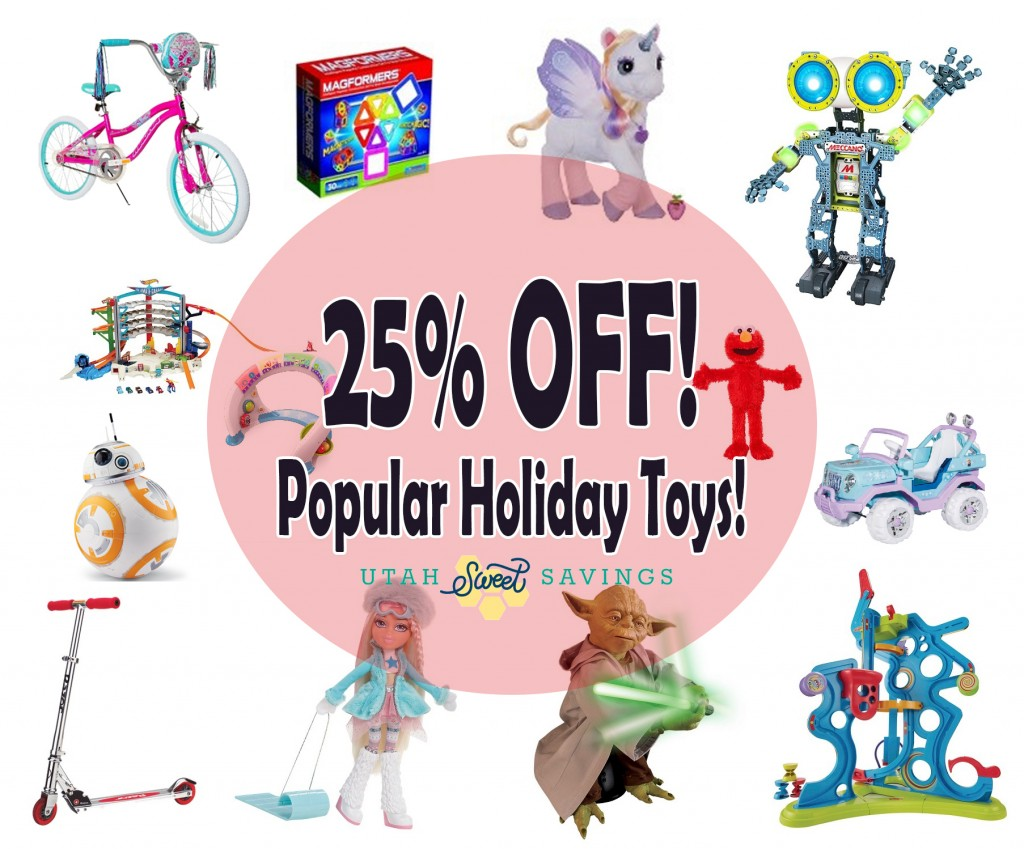 25 off toys
