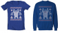 Abominable Snowman Christmas Sweater - T-Shirt or Sweatshirt