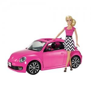 Barbie VW Beetle Car & Doll Set