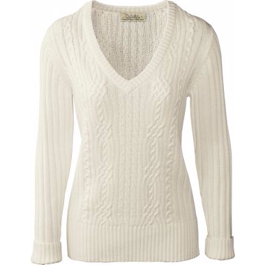 Cabela's Women's Glacier Basin V-Neck Sweater