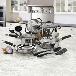 Cuisinart Stainless Steel 12-pc. Cookware Set