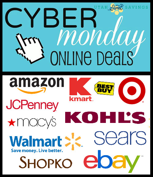 Cyber Monday Deals Easy Clickable Image Utah Sweet Savings