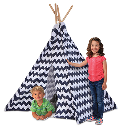 Discovery Kids Teepee Canvas Tent