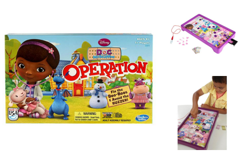 Disney Doc McStuffins Operation Game