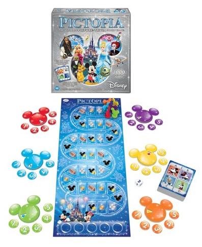 Disney Pictopia-Family Trivia Game