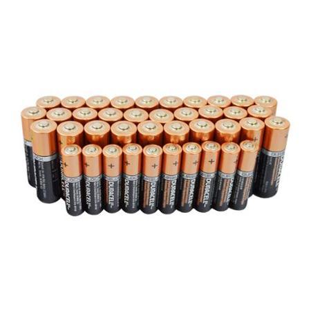 Duracell 30 AA + 10 AAA Copper Top Alkaline Long Lasting Batteries