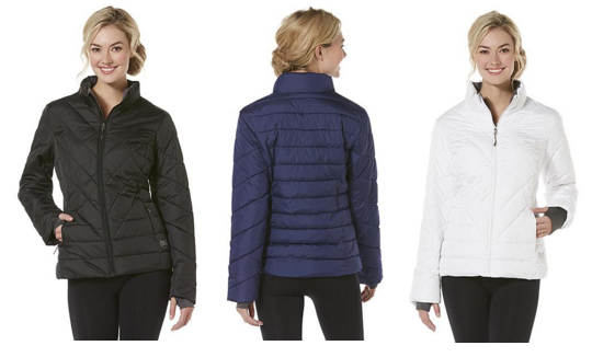 Everlast Sport Women's Quilted Athletic Jacket