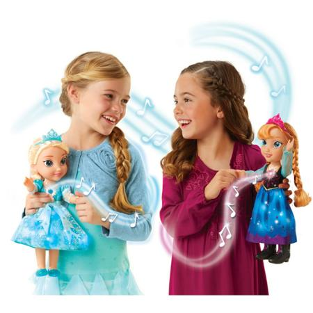 Frozen Singing Sisters Elsa and Anna Dolls (Exclusive)