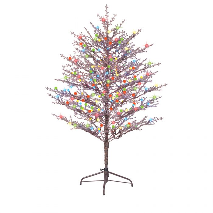 fiber optic christmas trees lowes - Artificial Christmas Trees Lowes