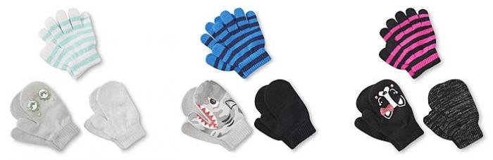 Kids 3-Pack Mittens & Gloves