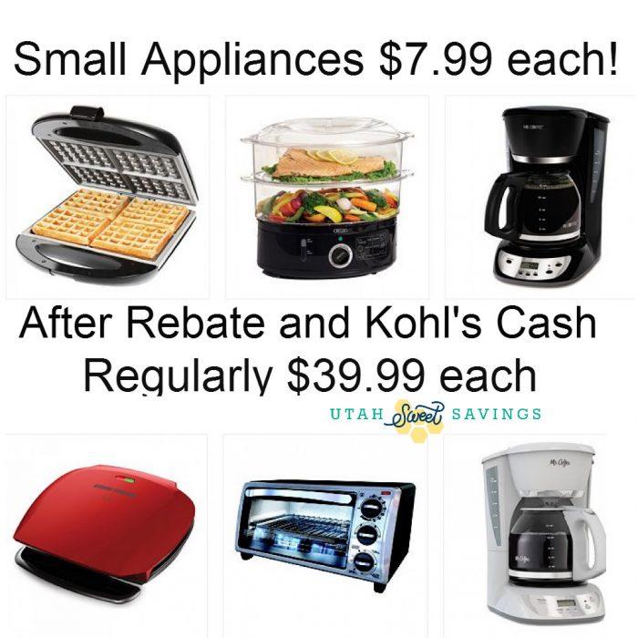 Kohl's Bigger Appliances