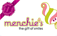 Menchie's gift card