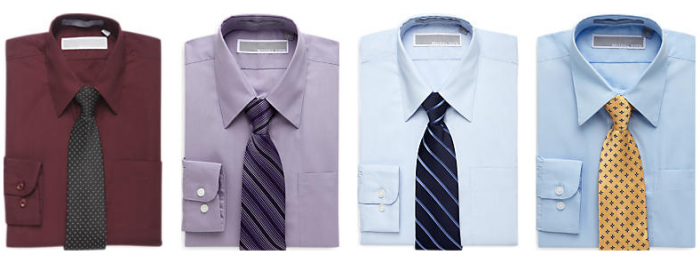 Michael Kors shirt and tie sets boys
