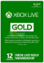 Microsoft – XBOX Live Gold 12-Month Membership for just $34.99