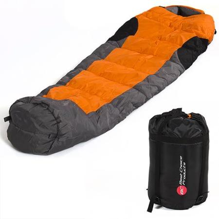 Mummy Sleeping Bag 5F-15C Camping Hiking With Carrying Case