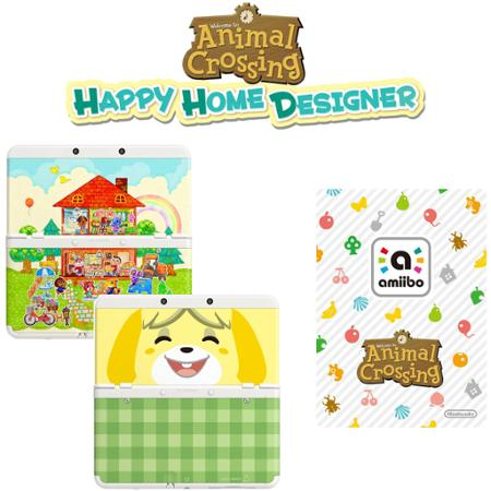 Nintendo New 3DS Handheld Animal Crossing Happy Home Designer Bundle