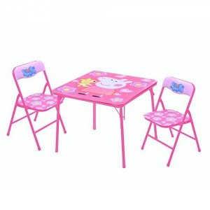Peppa Pig Square Table & Chairs Set