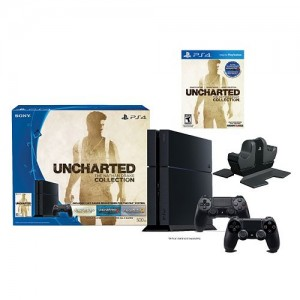 PlayStation 4 Uncharted 500GB PS4 Bundle with Charging Station