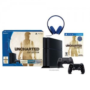 PlayStation 4 Uncharted 500GB PS4 Bundle with Headset