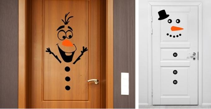 Snowman Vinyl Decal Kits!