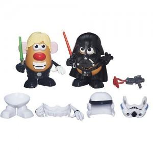 Star Wars Mr. Potato Head Darth Tater & Luke Frywalker Figure & Accessory Set by Playskool