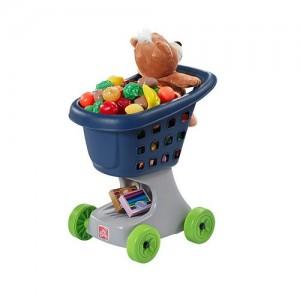 Step2 Little Helper's Shopping Cart blue