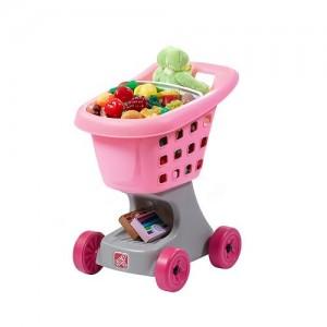Step2 Little Helper's Shopping Cart pink