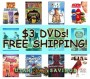 Target $3 DVDs