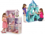 Teamson Fancy Mansion Wooden Dollhouse  Ice Mansion Wooden Dollhouse