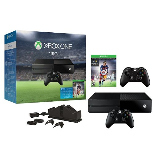 Xbox One FIFA 1TB System Bundle with Charging Station