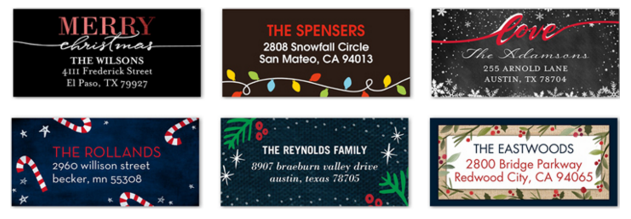 Free Address Labels from Shutterfly! Just Pay $2 99 Shipping