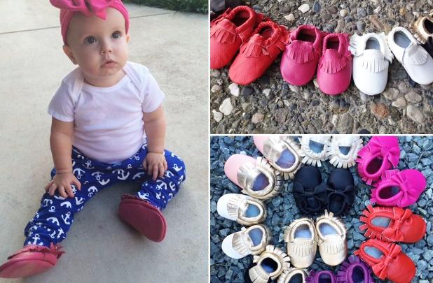 baby moccasins super sale