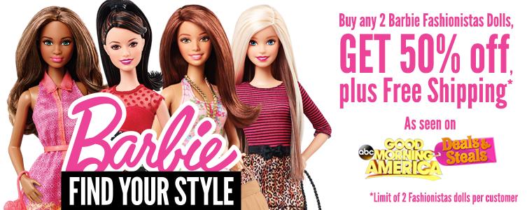 barbie fashionist GMA deal