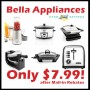 bella small appliances macys 7.99 after mail in rebate