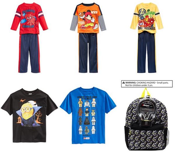 boys 2-7 clothes