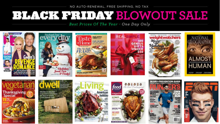 discountmags black friday magazine sale