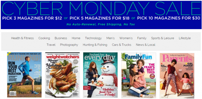 discountmags cybermonday
