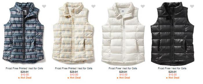frost free vest