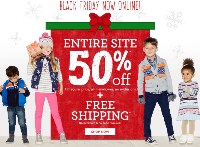 gymboree black friday 2015