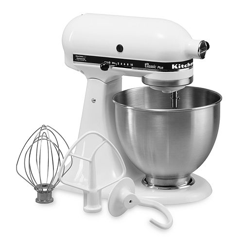 Kitchenaid Ksm75 Classic Plus 4.5-Qt. Stand Mixer For $158.24