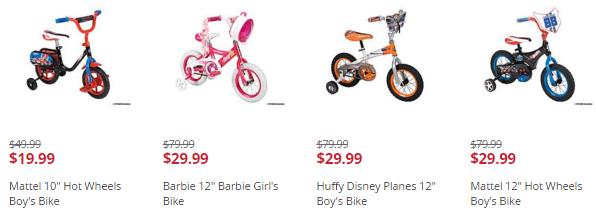 kmart kids bikes