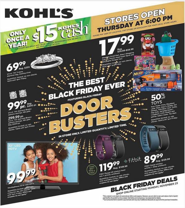 kohls black friday ad scan