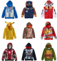 kohls kid character hoodies