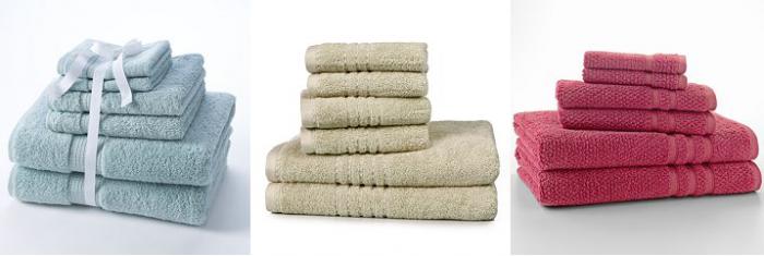 kohls towel sets