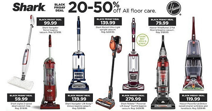 kohls vacuums bf