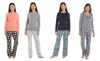 kohls women pajamas