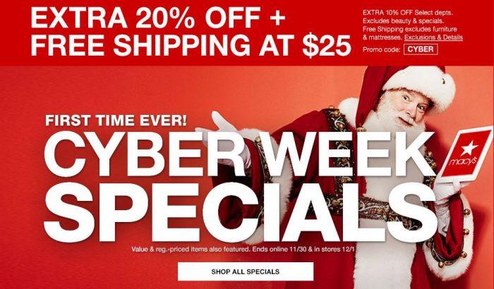 29bc4f207875 Macy s Cyber Week Specials LIVE NOW! – Utah Sweet Savings
