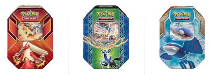 pokemon tin trading cards