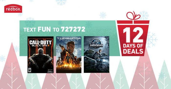 redbox 12 days of deals